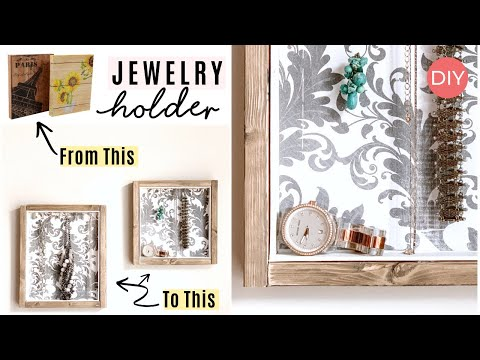 Dollar Tree Jewelry Holder DIY| Must See 👀 | Ashleigh Lauren