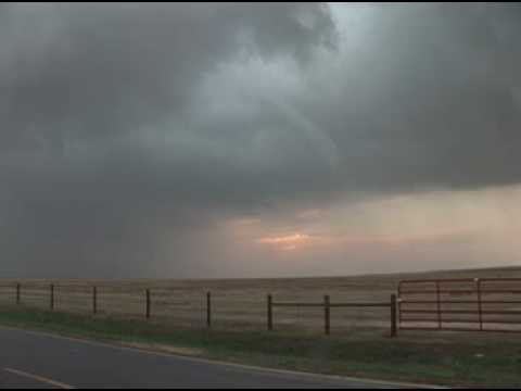Incredible tornado video! Sharon Springs, KS