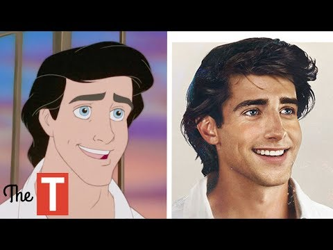 15 Disney PRINCES Reimagined As REAL PEOPLE