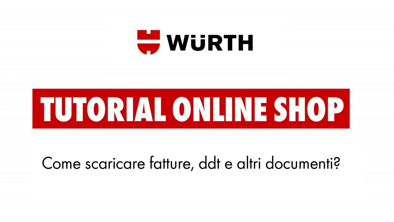 fatture wurth