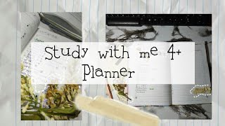 Study With Me 4¡ Учись со мной 4¡Оформление ежедневника на лето¡#study #учеба #studywithme #planner