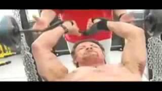 Сильвестр Сталлоне тренировка в  62 года .mpg