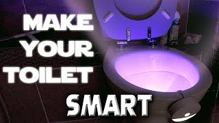 Make Your Toilet Smart.  I Can't Believe This Exists