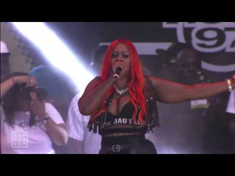Remy Ma brings out Lil Kim, Queen Latifah, Cardi B in response to Nicki Minaj (HOT 97 Summer Jam)