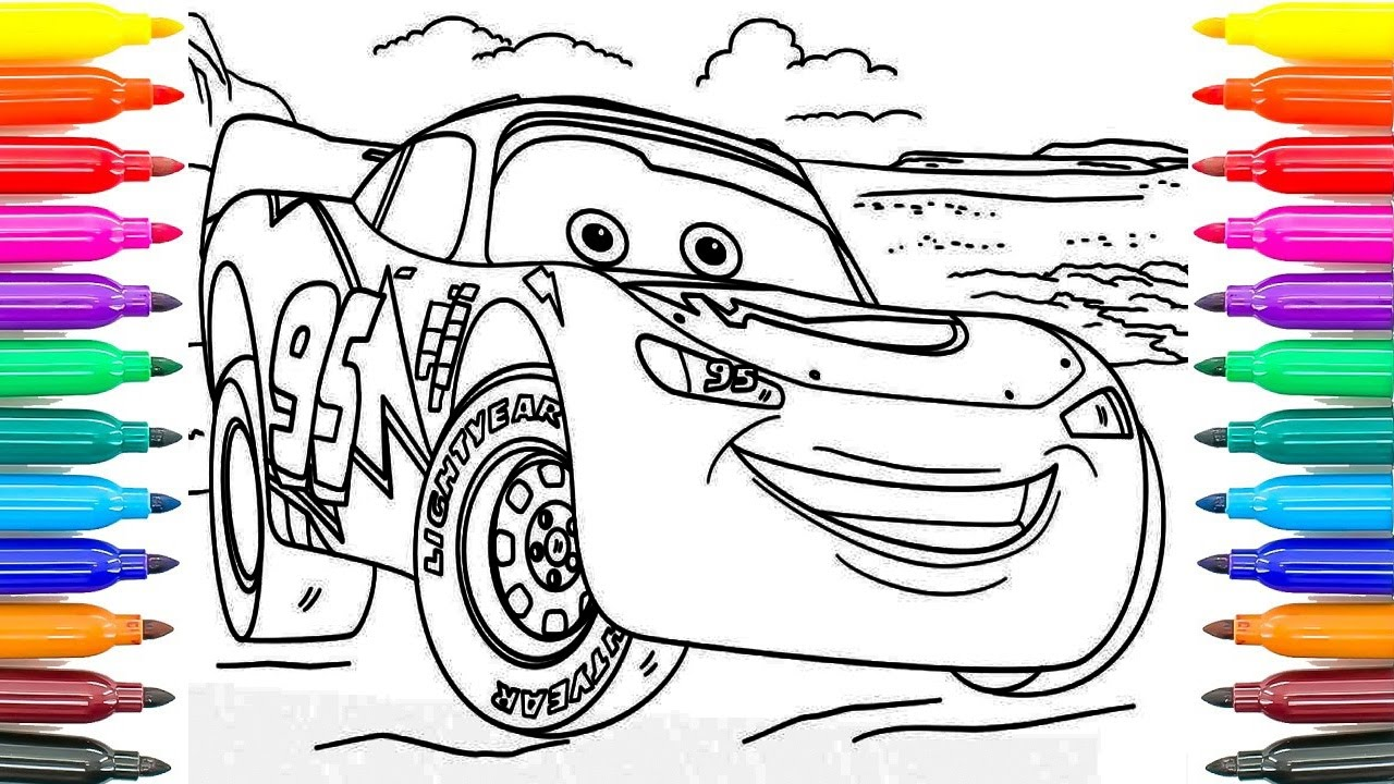 Large Numeral Printables furthermore O Masina De Pompieri Din Cars 677 besides Coloring Lamborghini Murcielago further Activity Page Lightning Mcqueen Maze besides Printable Cartoon Spongebob Eating Hamburger Coloring Page. on free cars 3 coloring sheets