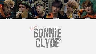 24K - Bonnie N Clyde MV + Lyrics Color Coded HanRomEng