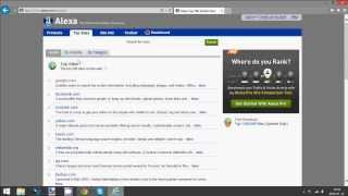 How to Check a Website's Alexa Rank