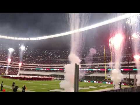 NFL Mexico Game 2016 Mexican National Anthem