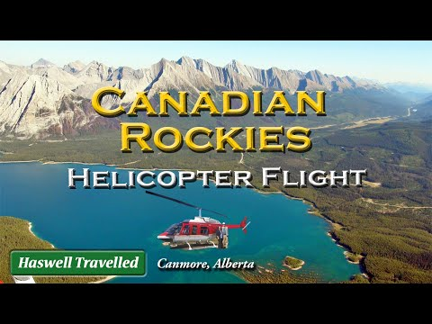 Canadian Rockies Helicopter Tour, Canmore - Alberta