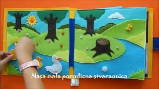 Nursery Rymes Quiet Book / format 25cm / by Naša mala porodična stvaraonica