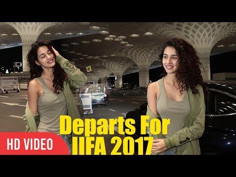 Hot Disha Patani Departs For IIFA New York 2017