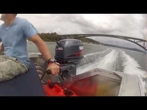 Yamaha 30hp Outboard on Stacer 399 Proline - WOT Smooth Water