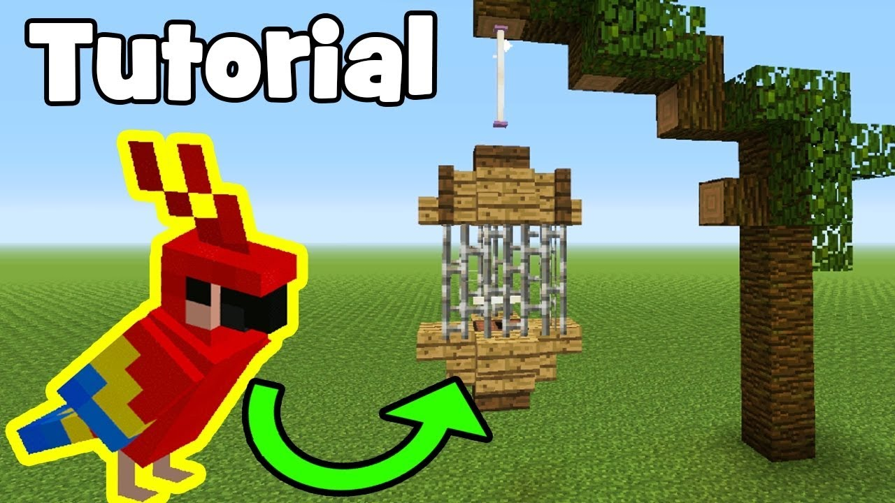 How To Build A Birdcage In Minecraft