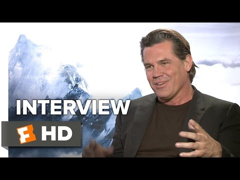 Everest Interview - Josh Brolin (2015) - Elizabeth Debicki, Jake Gyllenhaal Adventure Movie HD