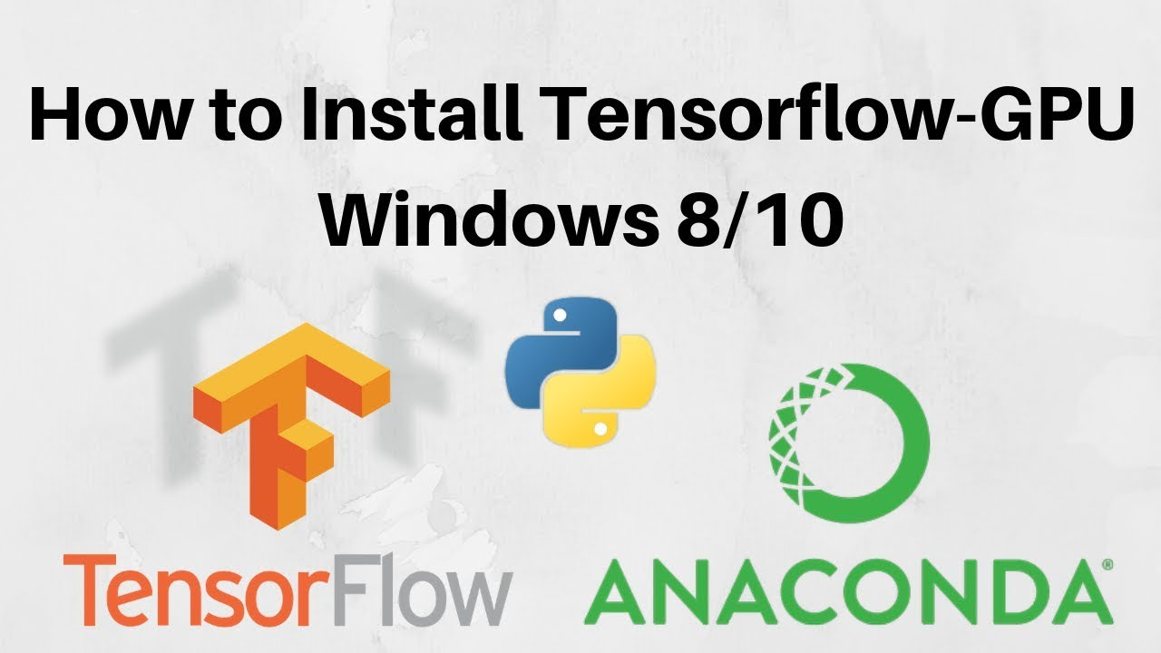 install tensorflow gpu version 1.10