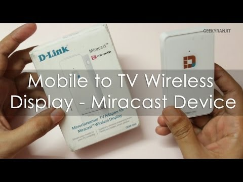 D-Link Wireless TV Display / Miracast Device DSM-260