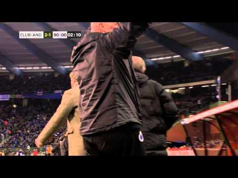 Refaelov Stunner Wins Club Brugge The Belgian Cup