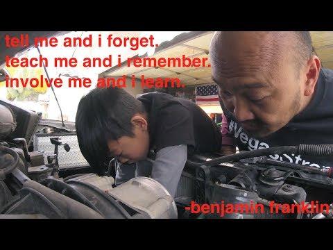 Battery Light ON & Hard Steering Wheel [cooling Fan Bracket] Replacement Nissan Xterra√ Fix It Angel