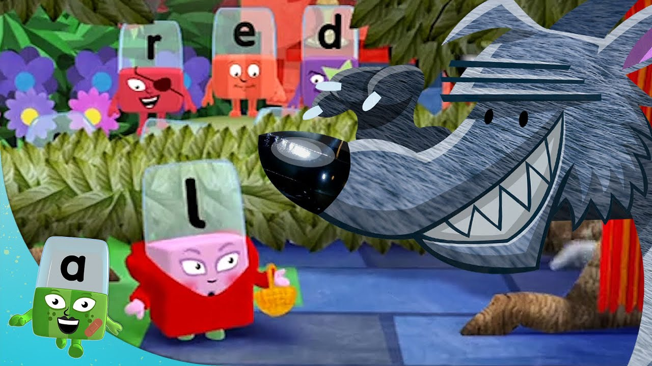 @Alphablocks - Little Red Riding Hood | Learn to Read | Learning Blocks