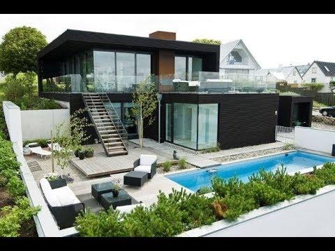 rumah minimalis ada kolam renang - youtube