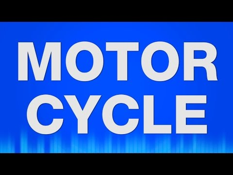 Motorcycle SOUND EFFECT - Motorrad SOUNDS