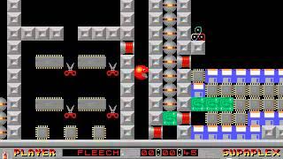 Supaplex: Original Levels: Level 93: Timing!