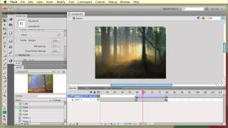 How to create a simple, fading image slideshow in Flash