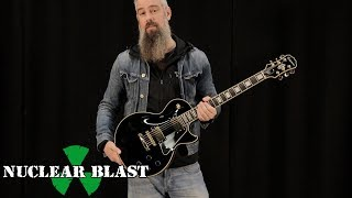 IN FLAMES – Björn Gelotte on his signature Epiphone guitar (EXCLUSIVE TRAILER)