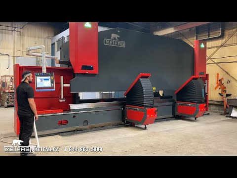 Press Brake Rebel 660T x 24' with automated sheet supports
