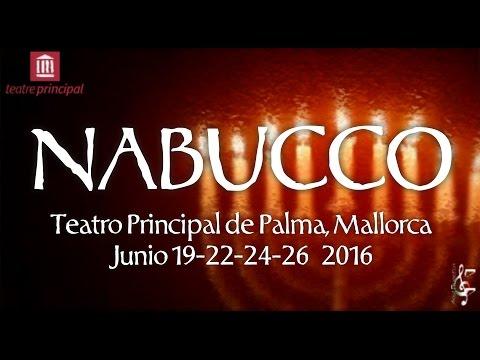 Promo NABUCCO Teatro Principal de Palma, Mallorca 2016