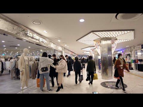 【4K】Seoul Walk - Express Bus Terminal (Feb.2021) (EP.97)