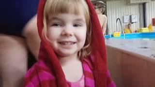 Обучение плаванию для детей.  Соревнования по плаванию в 3 года