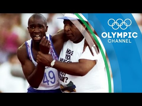 The Story of an Derek Redmond's Iconic Olympic Moment | Strangest Moments
