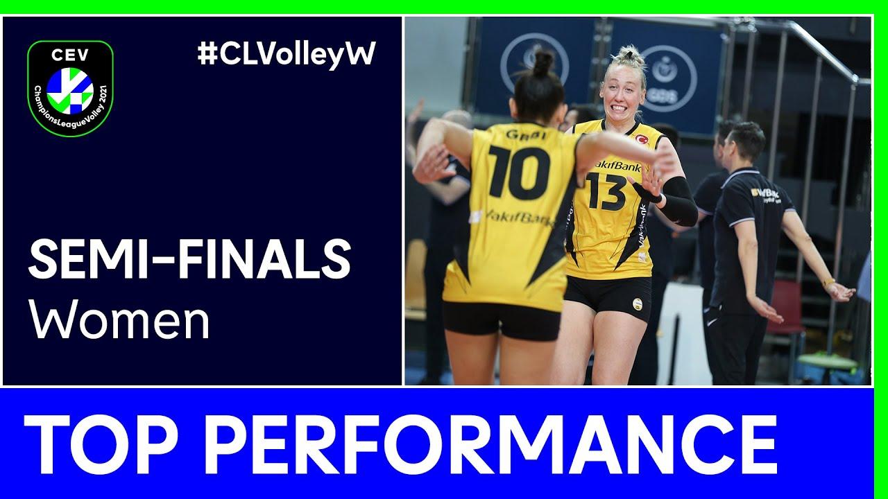 Michelle Bartsch-Hackley | Top Performance - Semi-Finals | #CLVolleyW