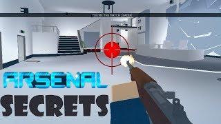 Arsenal GUN SECRETS!!! | FLY! | Arsenal | Roblox