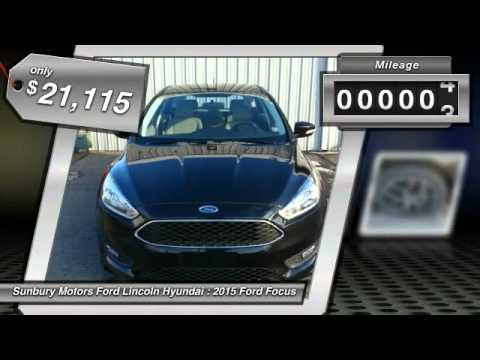 2015 Ford Focus Sunbury Pa Fc425 Youtube