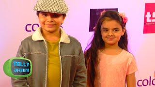 Naksh & Ruhi Together At Colors Style Awards | Red Carpet