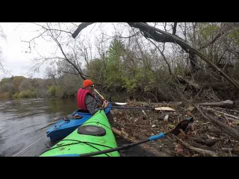 Rufus and James Cleaning up the Housatonic River