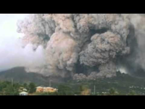 Montserrat Volcano 1995