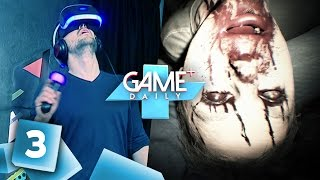 [3/4] Playstation VR: Driveclub, Resident Evil 7, Battlezone, VR Worlds | Game+ Daily | 13.10.2016