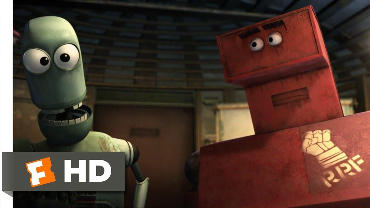 Download Astro Boy (5/10) Movie CLIP - Robot Revolutionary Front (2009) HD
