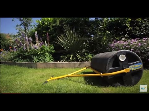 How to use a garden roller HSS Hire YouTube