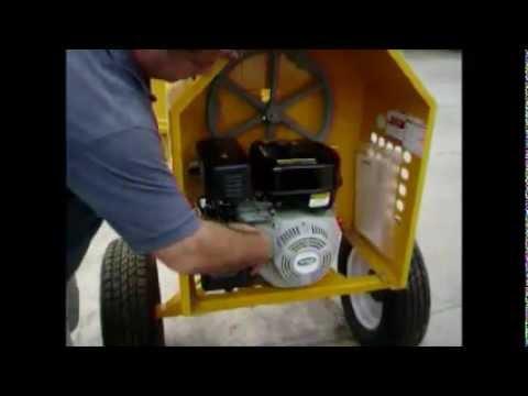 Revolvedora marca cipsa con motor mpower 8hp servi bombas motores y maquinaria.wmv