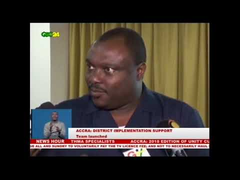 Accra: District implementation support team launched