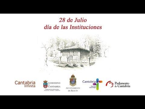 Retransmisión Día de las Instituciones de Cantabria 2019
