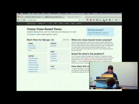 Kenneth Love: Getting Started with Django, a crash course - PyCon 2014