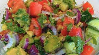Betty's Tomato, Cucumber, And Avocado Salad