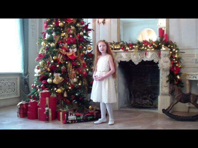 Изображение предпросмотра прочтения – КсенияГорячова читает произведение «Сегодня будет рождество» М.Ю.Лермонтова