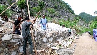 Bắt đầu công trình xây móng nhà mí lầu tiếp theo Tập 1 | NGỌC TÍNH channel