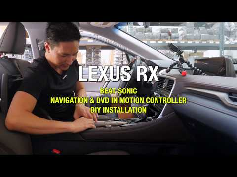 LEXUS RX DIY Install Navigation and DVD Control Bypass Beat-Sonic